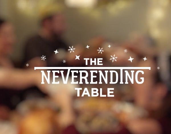 ASDA | Christmas '16 – Never ending table